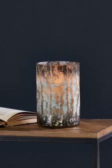 Burnished Tea Light Holder