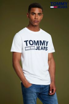 Tommy Jeans White Essential Logo Tee