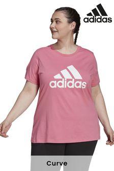 adidas Curve Badge Of Sport Logo T-Shirt