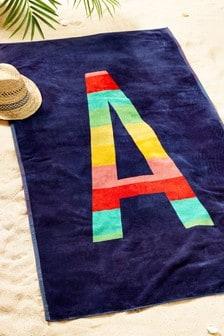 Alphabet Beach Towel