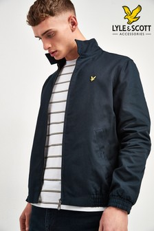 Lyle & Scott Navy Harrington Jacket