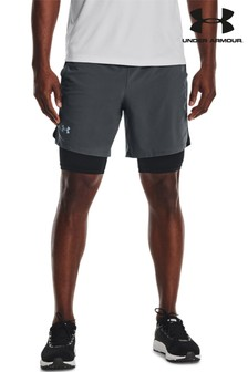 Under Armour Launch 2-In-1 SW 7 Inch Shorts