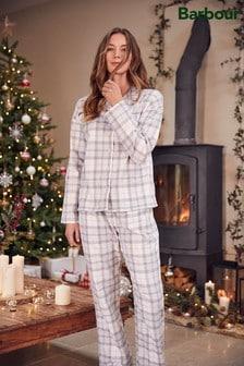 Barbour® Womens Grey Nightwear Ellery Pyjama Set