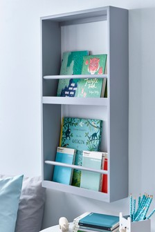 Grey XL Nursery Bookshelf