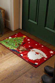 Washable Santa Christmas Doormat