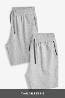 Marl/Charcoal Jersey Shorts Two Pack