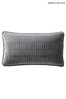 Karen Millen Velvet Pleat Cushion