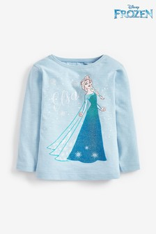 Elsa Disney™ Frozen Long Sleeve T-Shirt (3mths-7yrs)