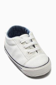 Pram Lace-Up Shoes (0-18mths)