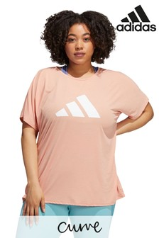 adidas Curve Future Icon 3 Bar T-Shirt
