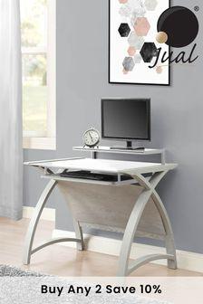 Helsinki 900 Grey Desk By Jual