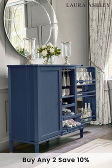 Henshaw Dusky Seaspray Drinks Cabinet by Laura Ashley