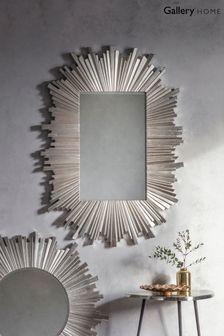 Herzfeld Rectangle Art Deco Mirror by Gallery Direct