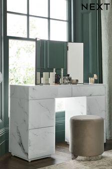 Sloane Glass Storage Dressing Table
