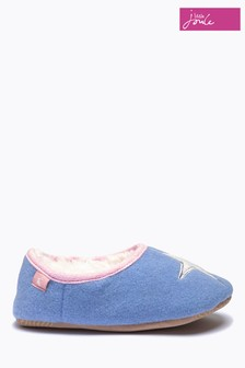 Joules Blue Mule Slippers