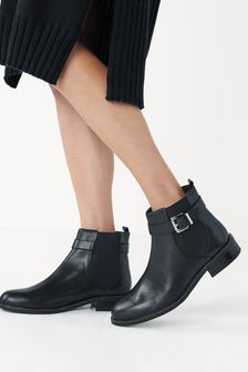 Forever Comfort® Studded Chelsea Boots