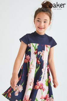 Baker by Ted Baker Panelled Scuba Dress