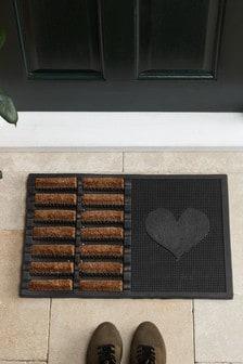 Heart Boot Scraper Doormat