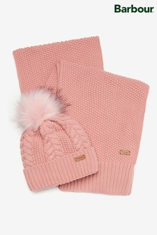 Barbour® Hartley Beanie and Scarf Gift Set