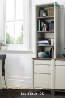 Bergen Grey Washed Oak Soft Grey Narrow Top Unit by Bentley Designs