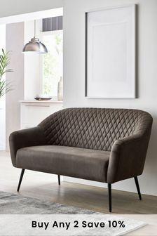 Hamilton Small Sofa With Black Legs