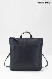 White Stuff Issy Leather Backpack