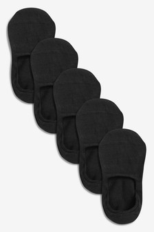 Invisible Trainer Socks Five Pack