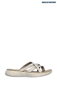 Skechers® Brown On-The-Go 600 Dainty Sandals