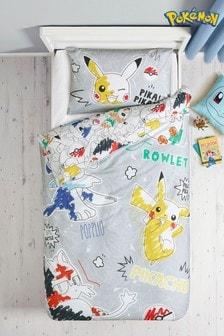 Pokémon™ Duvet Cover and Pillowcase Set