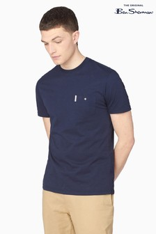 Ben Sherman Dark Navy Signature Pocket T-Shirt
