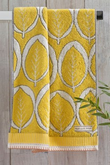 Yellow Leaf Towels