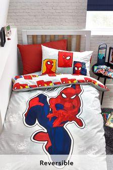 Blue Spider-Man Duvet Cover and Pillowcase Set