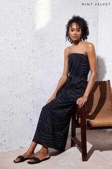 Mint Velvet Rey Strapless Maxi Beach Dress