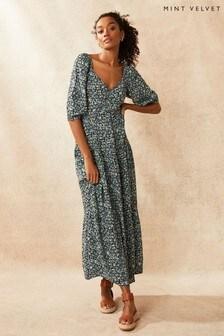 Mint Velvet Natasha Floral Boho Maxi Dress