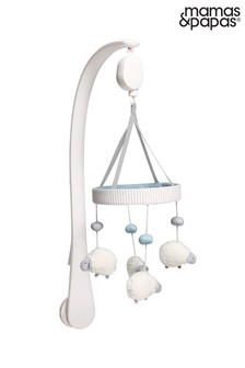 Mamas & Papas Welcome to the World Farm Sheep Musical Cot Mobile