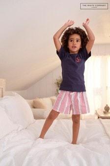 The White Company Anchor & Stripe Shortie Pyjamas