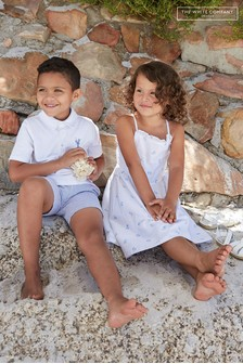 The White Company Polo Top And Shorts Set