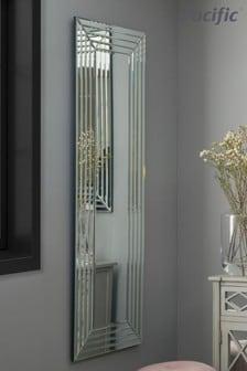 Pacific Art Deco Oblong Lean Mirror