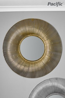 Pacific Wire Round Wall Mirror