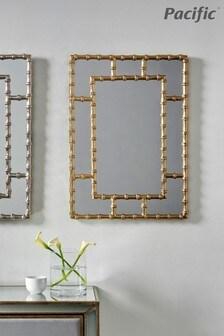 Pacific Bamboo Rectangular Wall Mirror