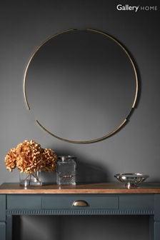 Gallery Direct Leon Round Mirror
