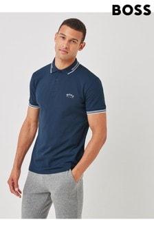 BOSS Blue Boss Paul Curved Polo Shirt