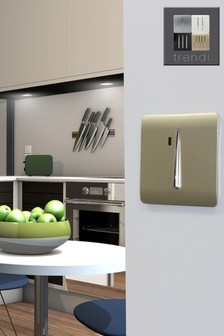 Trendiswitch 20 Amp Neon Gold Light Switch