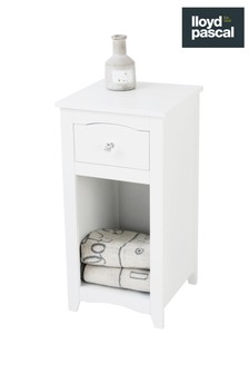 Somerset Bedside Drawer and Shelf Cabinet By Lloyd Pascal