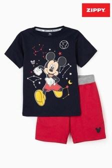Zippy Boys Disney Mickey Mouse™ T-Shirt And Shorts