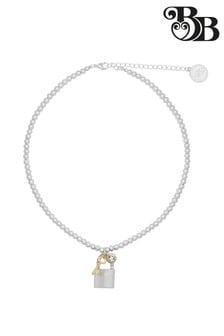 Bibi Bijoux Mini Ball Padlock Necklace