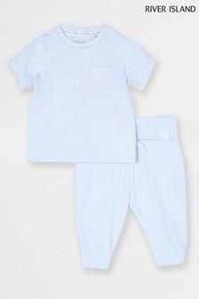 River Island Rib T-Shirt and Legging Set