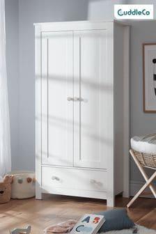 Aylesbury Nursery Wardrobe In White By Cuddleco