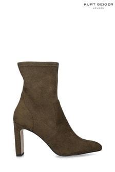 KG Kurt Geiger Green Thara Boots