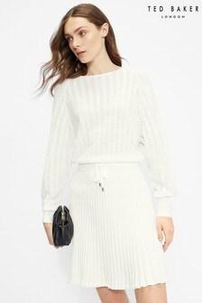 Ted Baker Briyele Pointelle Knit Dress